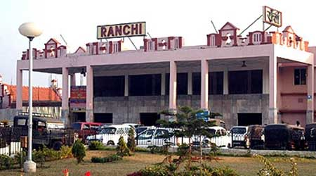 Ranchi Railway station, Jharkhand.