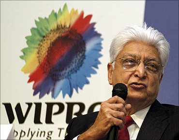 Azim Premji, chairman of Wipro Ltd.