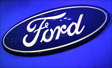 The Ford Motor Company Inc. logo.
