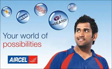 Aircel was voted India's 8th best employer.