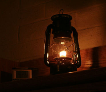 Company hopes people will switch from kerosene lanterns.