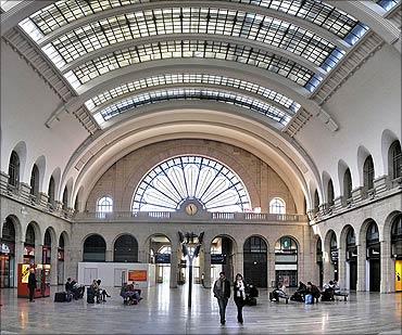 Gare de Strasbourg.