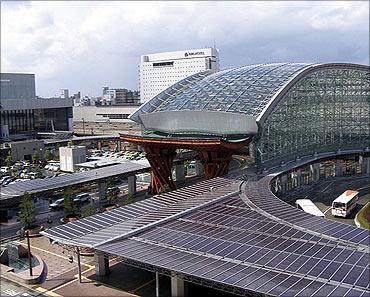 Kanazawa Station.
