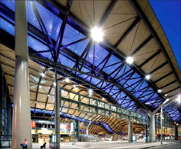Southern Cross station.