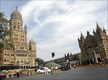 Chhatrapati Shivaji Terminus, Mumbai.