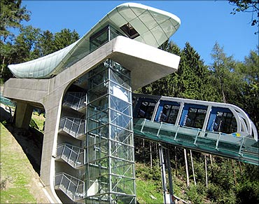 Nordpark Cable Railway.