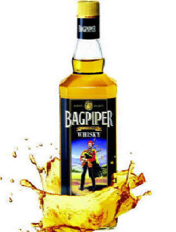 Bagpiper is one of the oldest whisky brands in India.