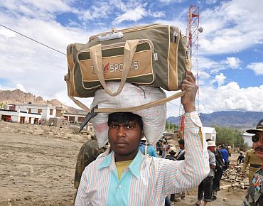 Labourers are usually hired from Bihar.