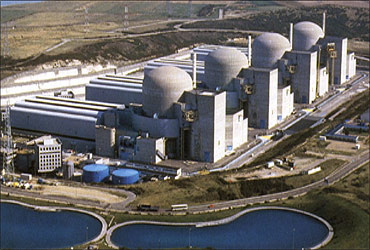Paluel Nuclear Power Plant 5,528 MWh (Normandy, France)