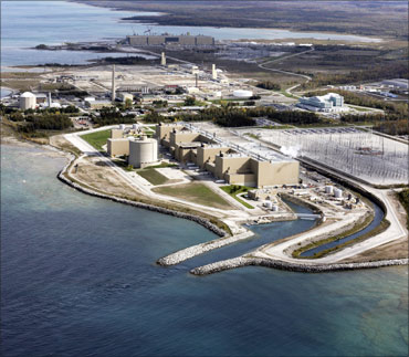 Bruce Power plant.