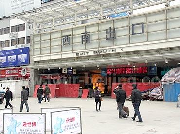Shanghai Railway Station.