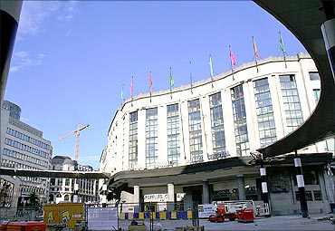 Brussels Central.