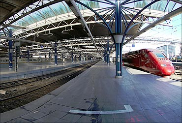 Brussels station.