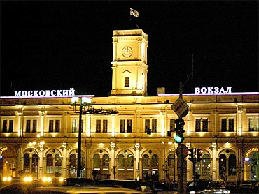 Moscow Railway Station.