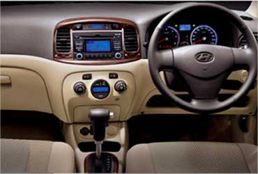 Interior view of Verna.