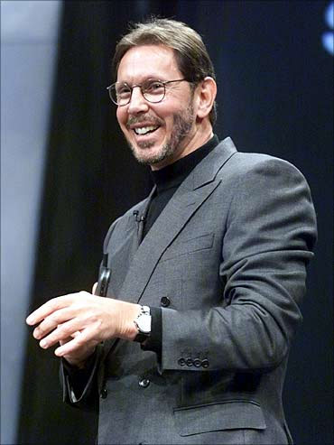 Oracle boss Larry Ellison.
