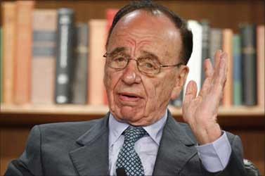 News Corp's Rupert Murdoch.