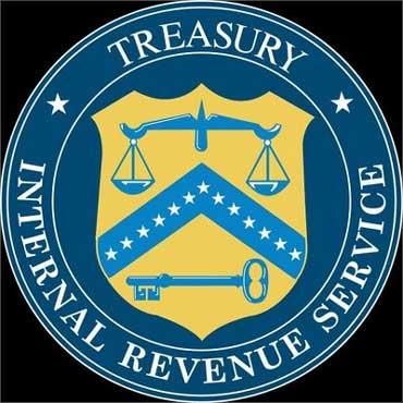 IRS logo.