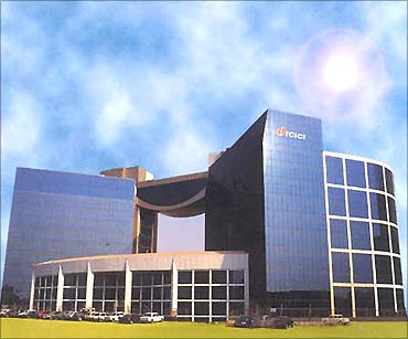 ICICI Bank headquarters.