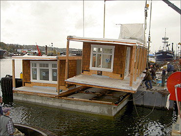 A floating home in Seattle.