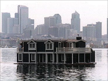 Floating home in Seatle.