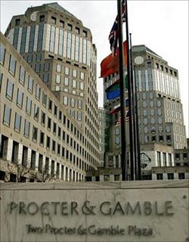 Procter and Gamble.
