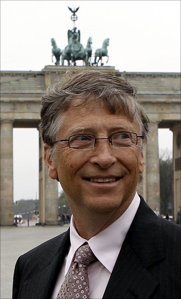 Bill Gates in Berlin.