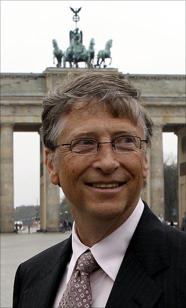 Bill Gates in Berlin.