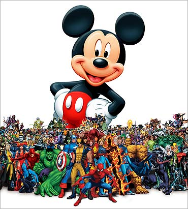 Walt Disney's creation.