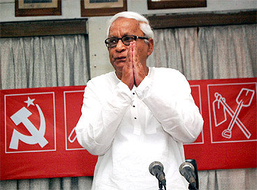 Former West Bengal chief minister Buddhadeb Bhattacharjee.