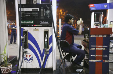 Petrol price zooms.