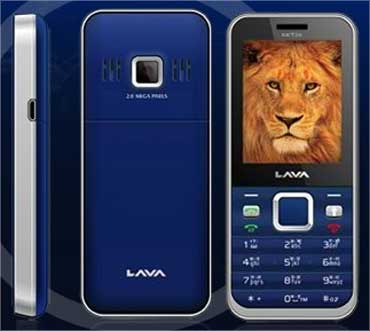 Lava mobile phones.