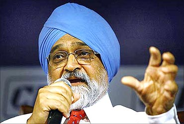 Planning Commission Dy Chairman Montek Singh Ahluwalia.