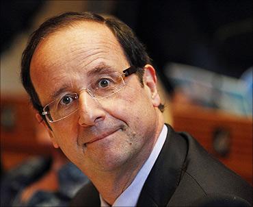 Francois Hollande.