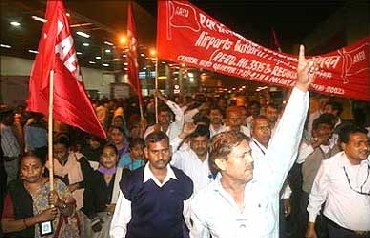 With Left routed, trade unions face tough times