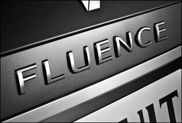 The Fluence logo.
