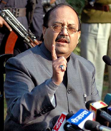 Former Samajwadi party leader Amar Singh.