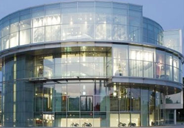 Audi's impressive museum.