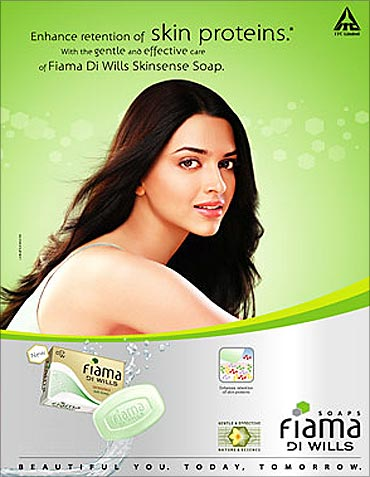Vivel and Superia soaps and shampoos get popular.