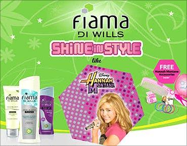 Fiama Di Wills Hannah Montana pack.