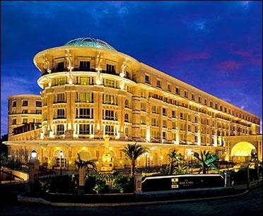 ITC Grand Maratha hotel.