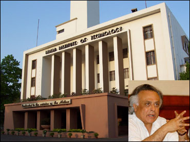 Indian Institute of Technology, Inset: Jairam Ramesh.