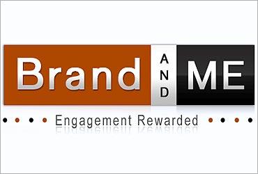 Brandandme.com logo.