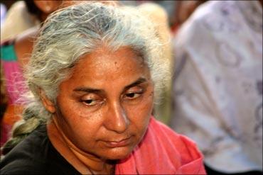 Social activist Medha Patkar.