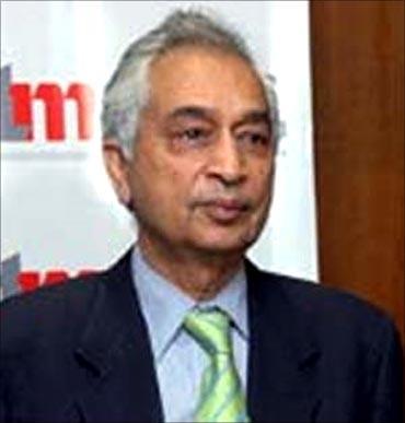 Mahindra Satyam chairman Vineet Nayyar.