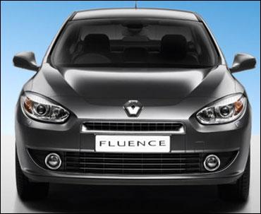 Renault Fluence.