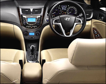 Interior view of Fluidic Verna.