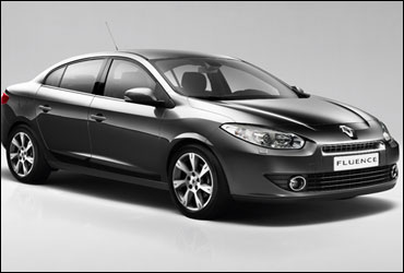 Side view of Fluence.