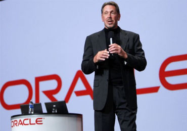 Ellison co-founded Oracle.