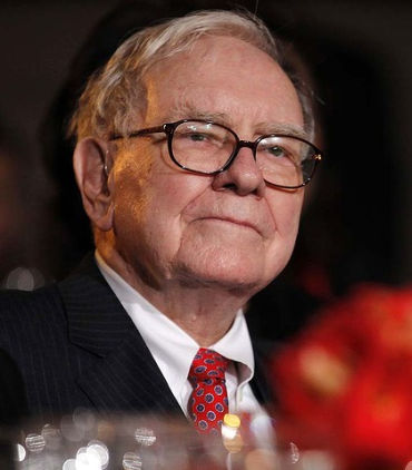 Buffett took control of Berkshire Hathaway in 1970.